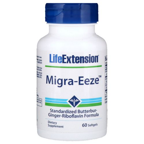 Life Extension, Migra-Eeze, 60 Softgels Review