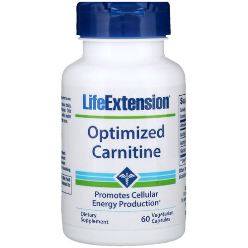 Life Extension, Optimized Carnitine, 60 Vegetarian Capsules Review