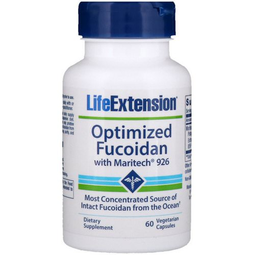 Life Extension, Optimized Fucoidan with Maritech 926, 60 Vegetarian Capsules Review