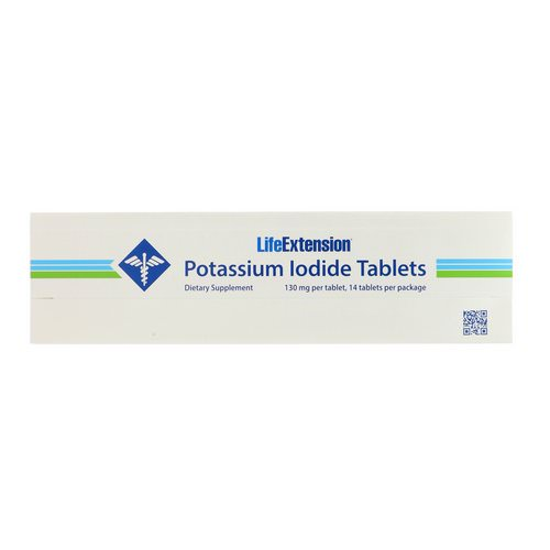 Life Extension, Potassium Iodide Tablets, 130 mg, 14 Tablets Review