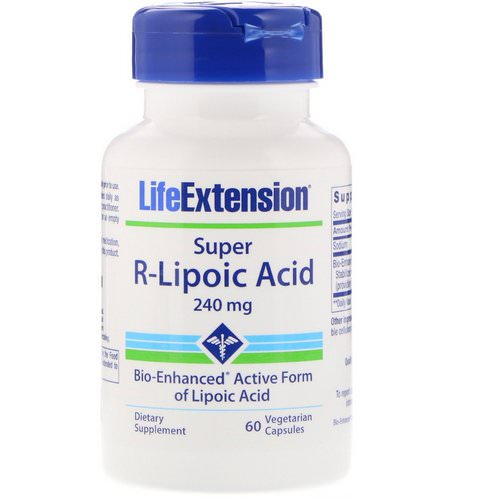Life Extension, Super R-Lipoic Acid, 240 mg, 60 Vegetarian Capsules Review
