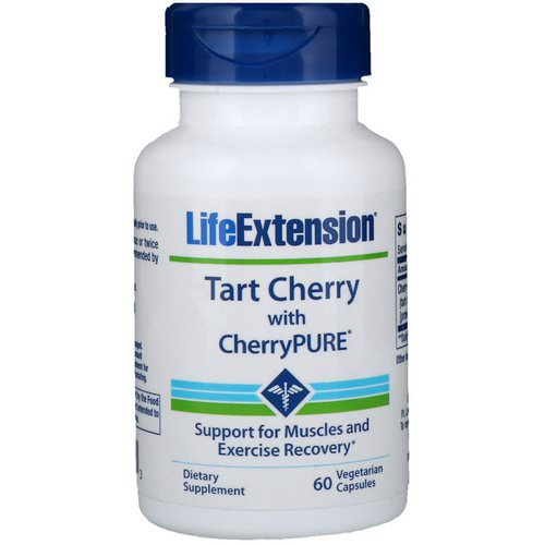 Life Extension, Tart Cherry with CherryPure, 60 Vegetarian Capsules Review