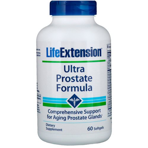 Life Extension, Ultra Prostate Formula, 60 Softgels Review