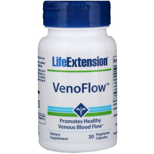 Life Extension, VenoFlow, 30 Vegetarian Capsules Review