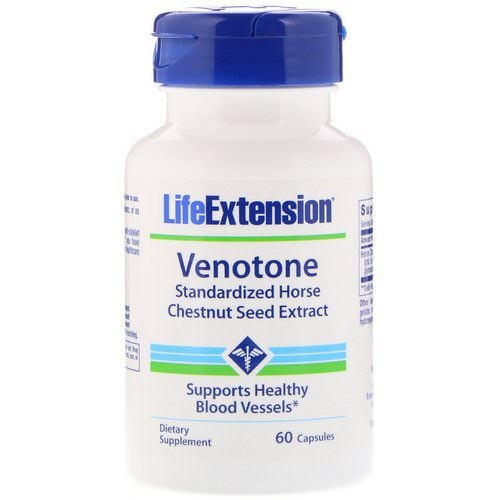 Life Extension, Venotone, 60 Capsules Review