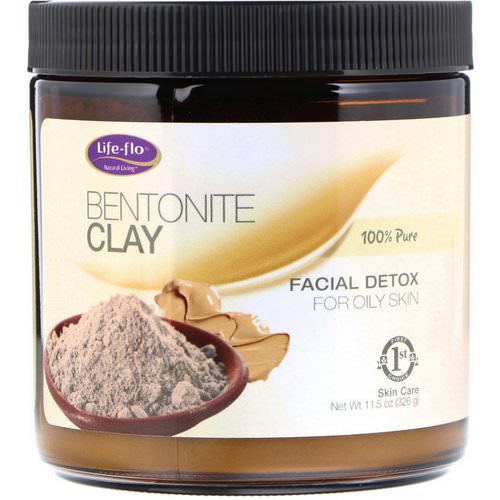 Life-flo, Bentonite Clay, Facial Detox, 11.5 oz (326 g) Review