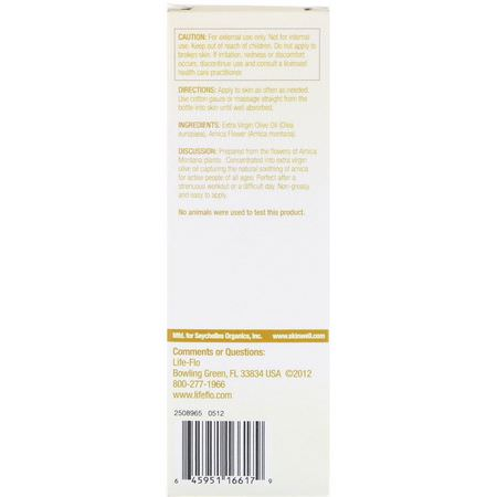 Arnica Topicals, Arnica Montana, Homeopathy, Herbs