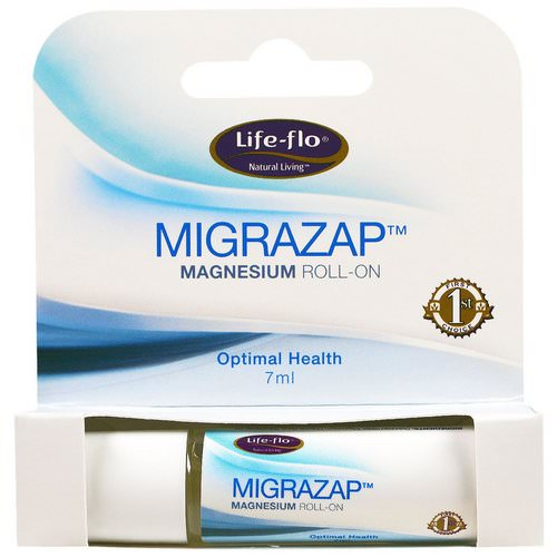 Life-flo, Migrazap Magnesium Roll-On, 7 ml Review