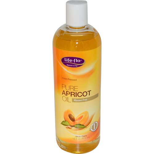 Life-flo, Pure Apricot Oil, Skin Care, 16 fl oz (473 ml) Review