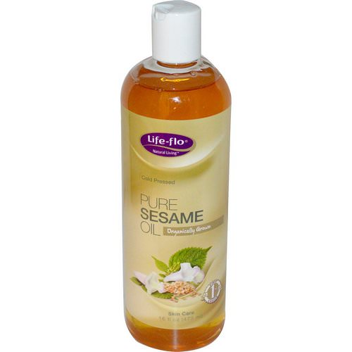 Life-flo, Pure Sesame Oil, Skin Care, 16 fl oz (473 ml) Review