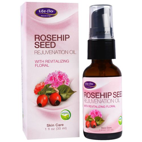 Life-flo, Rosehip Seed Rejuvenation Oil with Revitalizing Floral, 1 fl oz (30 ml) Review