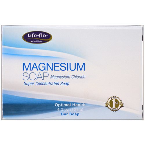 Life-flo, Magnesium Soap, Magnesium Chloride, Super Concentrated Bar Soap, 4.3 oz (121 g) Review