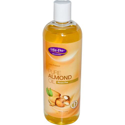 Life-flo, Pure Almond Oil, Skin Care, 16 fl oz (473 ml) Review