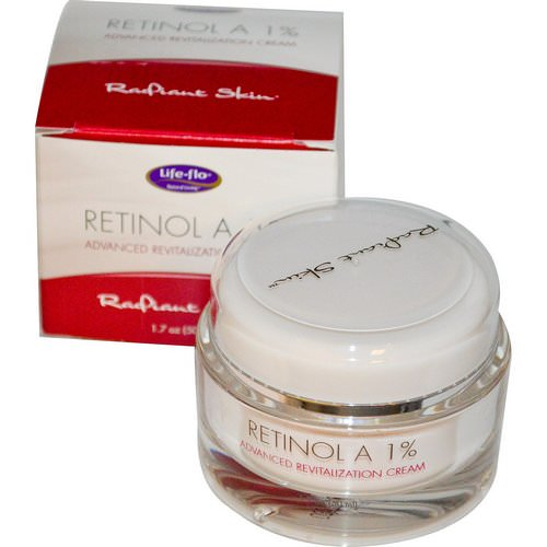 Life-flo, Retinol A 1%, Advanced Revitalization Cream, 1.7 oz (50 ml) Review