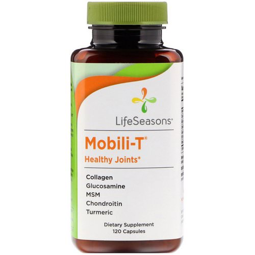 LifeSeasons, Mobili-T Healthy Joints, 120 Capsules Review