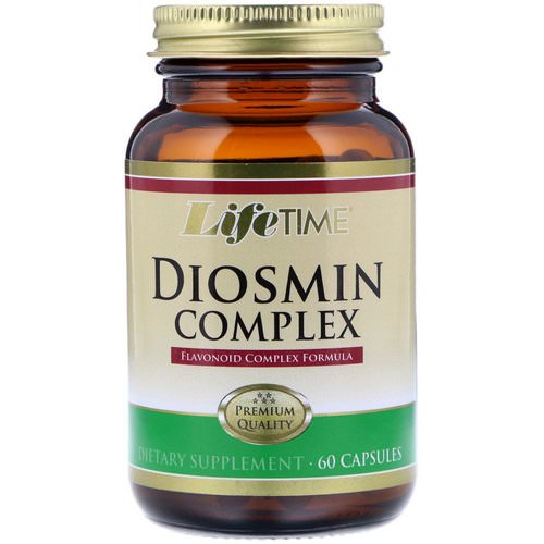 LifeTime Vitamins, Diosmin Complex, 60 Capsules Review