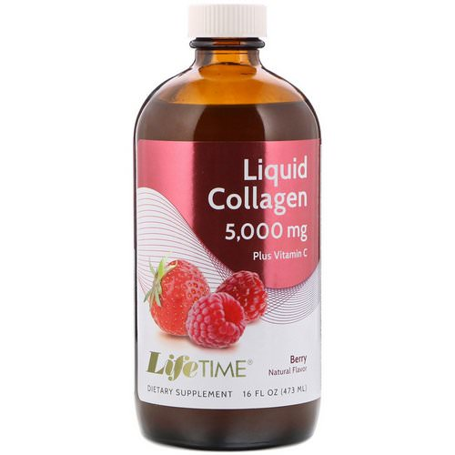 LifeTime Vitamins, Liquid Collagen Plus Vitamin C, Berry Flavor, 5,000 mg, 16 fl oz (473 ml) Review