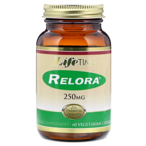 LifeTime Vitamins, Relora, 250 mg, 60 Vegetarian Capsules Review