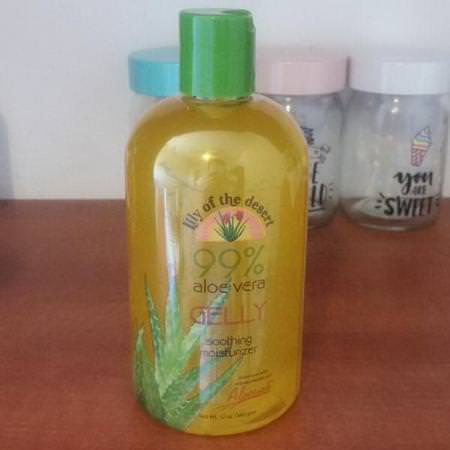 Lily of the Desert, 99% Aloe Vera Gelly, 8 oz (228 g) Review