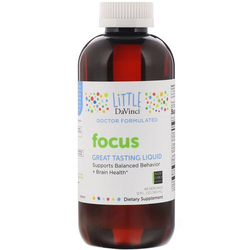 Little DaVinci, Focus Liquid, 12 fl oz (360 ml) Review