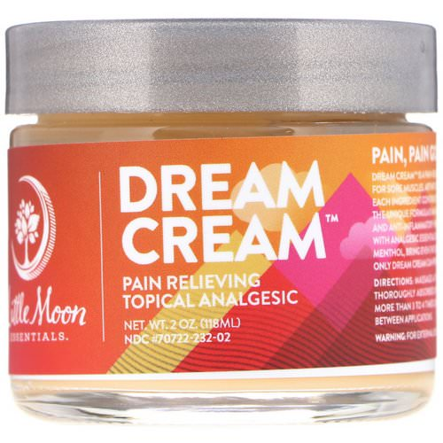 Little Moon Essentials, Dream Cream, Pain Relieving Topical Analgesic, 2 oz (118 ml) Review