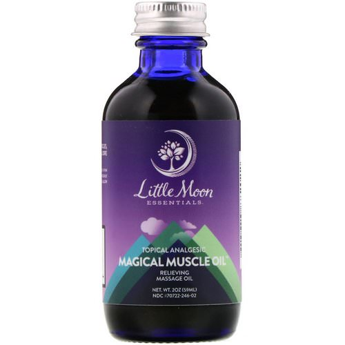Little Moon Essentials, Magical Muscle Oil, Relieving Massage Oil, 2 oz (59 ml) Review