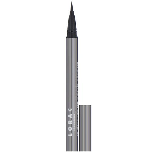 Lorac, Front of the Line, Pro Liquid Eyeliner, Black, 0.02 fl oz (0.55 ml) Review