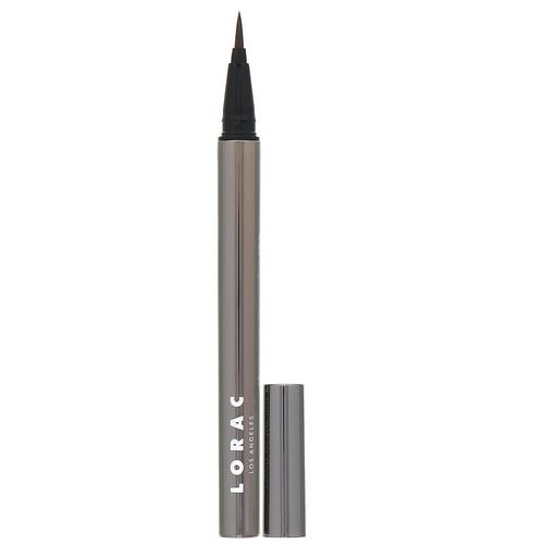 Lorac, Front of the Line, Pro Liquid Eyeliner, Dark Brown, 0.02 fl oz (0.55 ml) Review