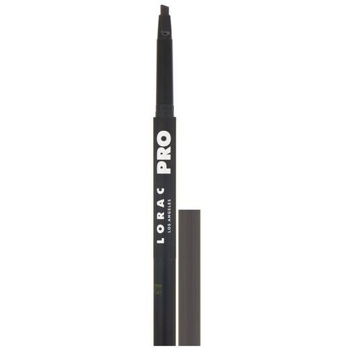 Lorac, Pro Precision Brow Pencil, Dark Cool Brown, 0.005 oz (0.16 g) Review
