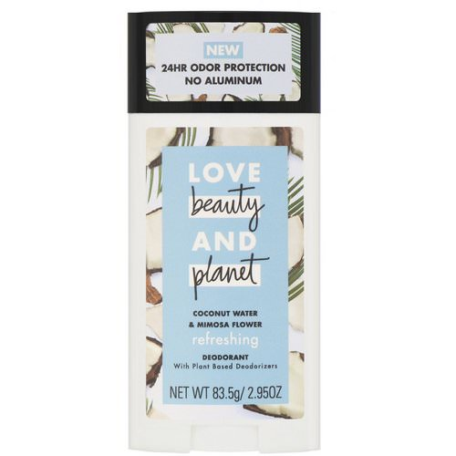 Love Beauty and Planet, Refreshing Deodorant, Coconut Water & Mimosa Flower, 2.95 oz (83.5 g) Review