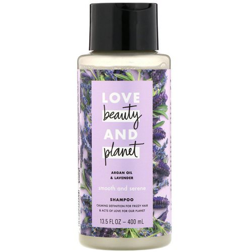 Love Beauty and Planet, Smooth and Serene Shampoo, Argan Oil & Lavender, 13.5 fl oz (400 ml) Review
