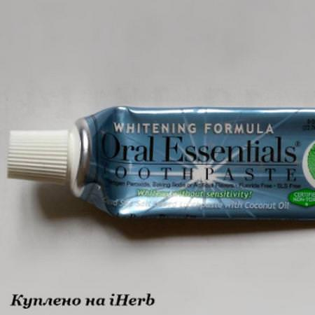 Medically Developed Toothpaste, Whitening