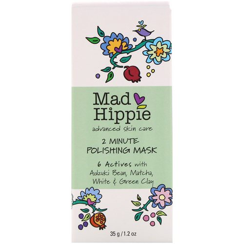 Mad Hippie Skin Care Products, 2 Minute Polishing Mask, 1.2 oz (35 g) Review