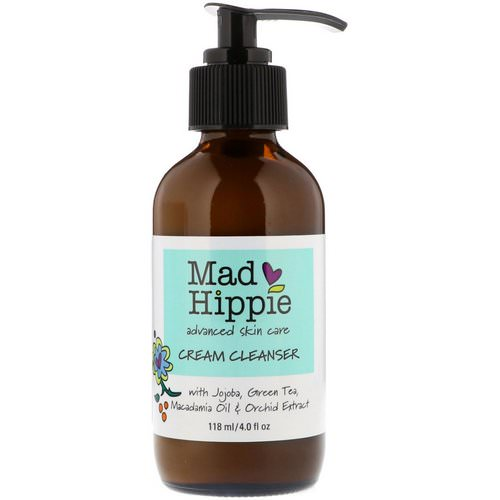 Mad Hippie Skin Care Products, Cream Cleanser, 13 Actives, 4.0 fl oz (118 ml) Review