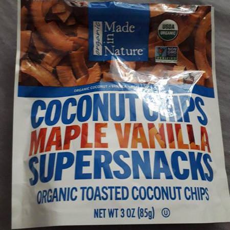 Made in Nature, Dried Coconut, Chips
