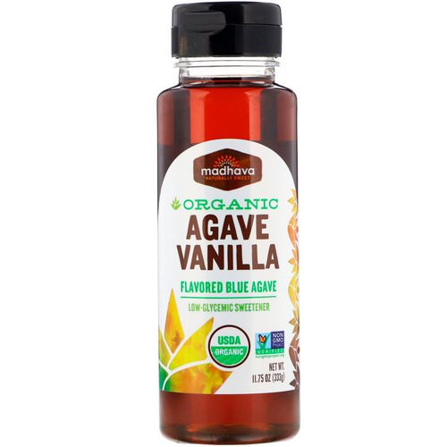 Madhava Natural Sweeteners, Organic Agave, Vanilla, 11.75 oz (333 g) Review