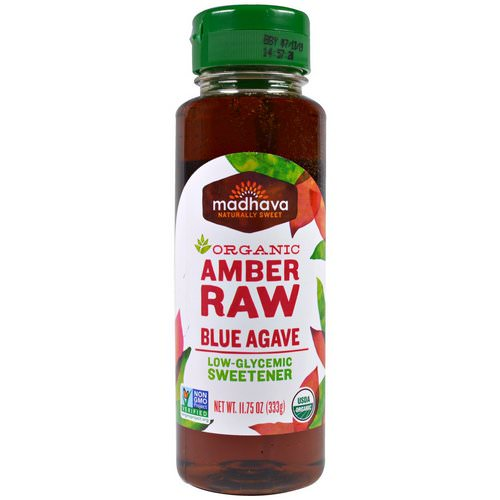Madhava Natural Sweeteners, Organic Amber Raw Blue Agave, 11.75 oz (333 g) Review