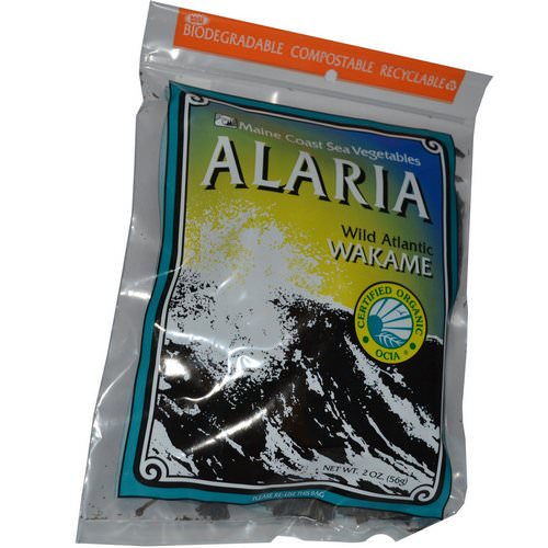 Maine Coast Sea Vegetables, Alaria, Wild Atlantic Wakame, 2 oz (56 g) Review