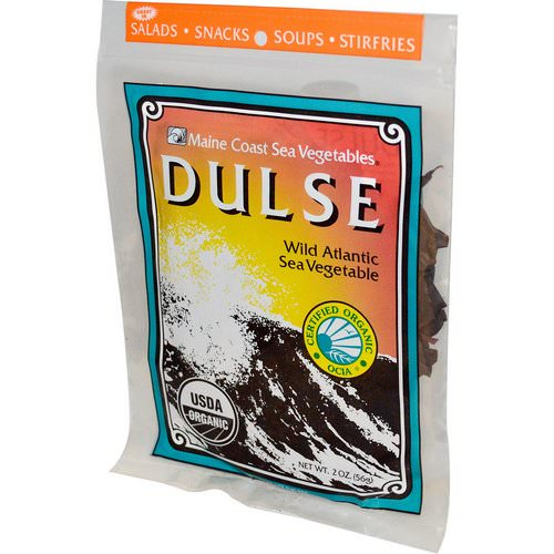 Maine Coast Sea Vegetables, Dulse, Wild Atlantic Sea Vegetable, 2 oz (56 g) Review