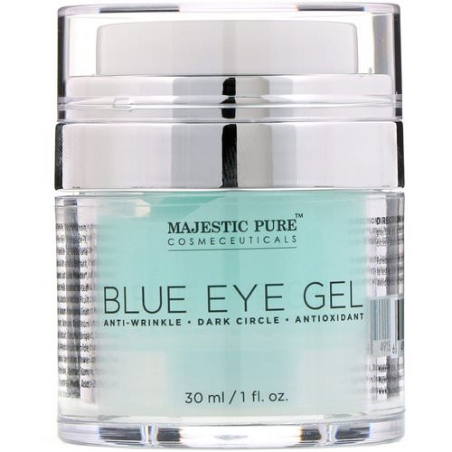Majestic Pure, Blue Eye Gel, 1 fl oz (30 ml) Review