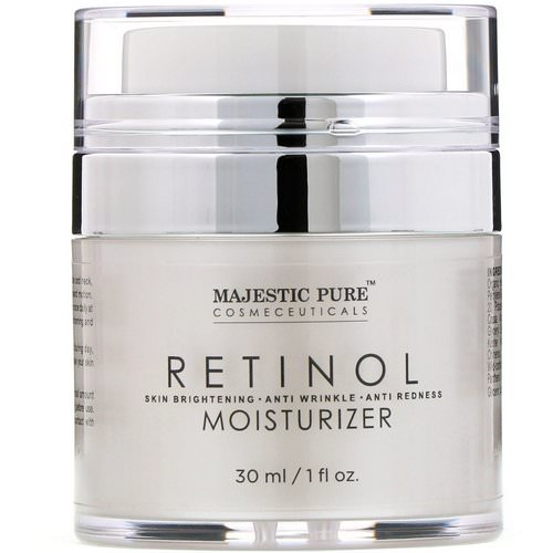Majestic Pure, Retinol Moisturizer, 1 fl oz (30 ml) Review