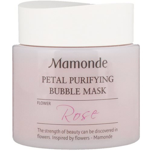 Mamonde, Petal Purifying Bubble Mask, Rose, 100 ml Review