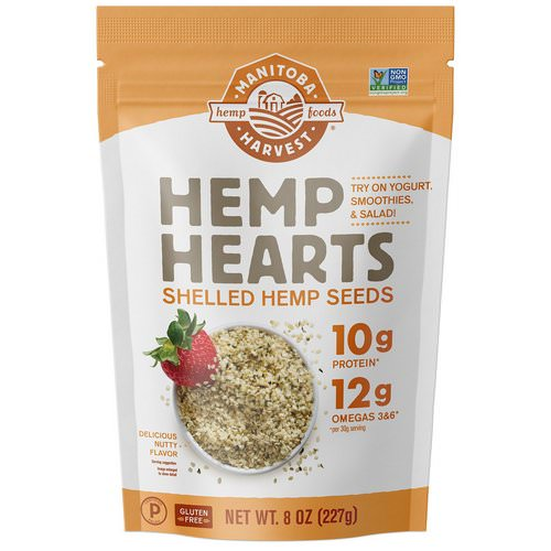 Manitoba Harvest, Hemp Hearts, Shelled Hemp Seeds, Delicious Nutty Flavor, 8 oz (227 g) Review