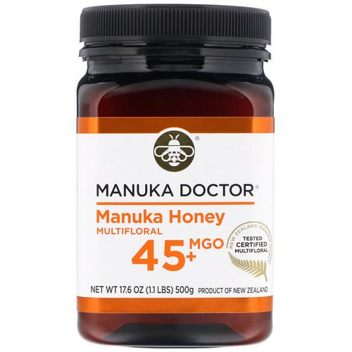 Manuka Doctor, Manuka Honey Multifloral, MGO 45+, 1.1 lbs (500 g) Review