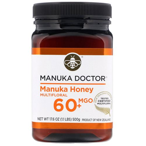 Manuka Doctor, Manuka Honey Multifloral, MGO 60+, 1.1 lbs (500 g) Review