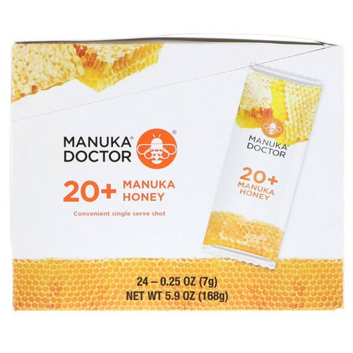 Manuka Doctor, 20+ Manuka Honey, 24 Sachets, 0.25 oz (7 g) Each Review
