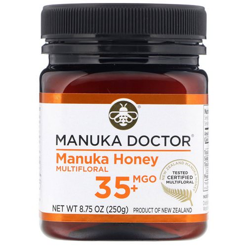 Manuka Doctor, Manuka Honey Multifloral, MGO 35+, 8.75 oz (250 g) Review