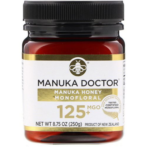 Manuka Doctor, Manuka Honey Monofloral, MGO 125+, 8.75 oz (250 g) Review