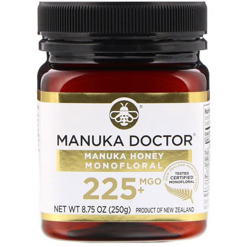 Manuka Doctor, Manuka Honey Monofloral, MGO 225+, 8.75 oz (250 g) Review