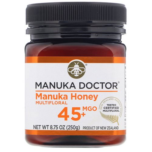 Manuka Doctor, Manuka Honey Multifloral, MGO 45+, 8.75 oz (250 g) Review
